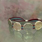 𝒱ℴ𝒾𝓁𝒶 ♥️ @bea.tejedor  #pulseramonedasnombrebyluli #designbyme #handmadejewelry #handmadewithlove