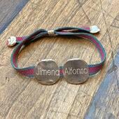𝓉𝒽ℯ𝓂 ♥️  #pulseramonedasnombrebyluli  #pulseraspersonalizadas #handmadejewelry #desingbyme