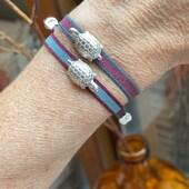 New In 🐢  .  #pulseratortugabyluli  #joyaspersonalizadas  #pulseraspersonalizadas  #plata #telaelastica  #diseñosexclusivos  #handmadejewelry  www.Luliandus.com